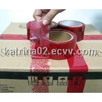 Tamper Evident Security Packing Tapes