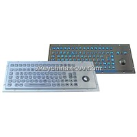Vandalproof Metal Backlight Keyboard (X-BP90B)