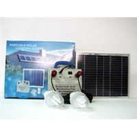 10W  Solar Home Lighting & charging System