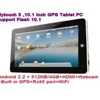 "10.2"" Superpad 2 Android 2.2 GPS 8GB 512M X220 Tablet PC Camera HDMI WiFi 3G Flytouch 3 MID UMPC"