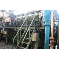 12 Used Sulzer 16ZAV40S Heavy Oil Gensets