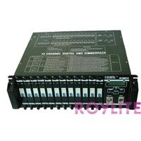 12 channels DMX dimmer pack