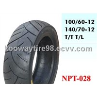 140/70-12 Scooter Tubeless Tyres