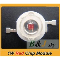 1W red high power LED chip,lamp beads