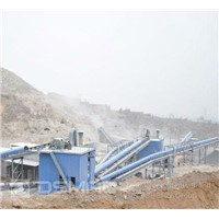 2011 New reliable sand stone production line