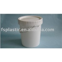 20L Plastic Pail with Screw Lid