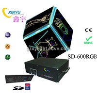 300mW SD-600RGP SD Card Laser Animation Projector