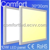 300x300 SMD3528 10W LED Panel Light