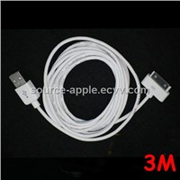 3M/10FT USB Data Sync Charge Cable for iPad&iPhone