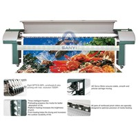 3.2m FY-3208H Solvent Printer With 8 Seiko Spt510 35pl Printhead