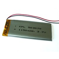 3.7v 1150mah Rechargeable Lithium Polymer Battery Pack
