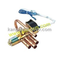 4-way reversing valve for refrigeration & air conditioning (refrigeration parts, HVAC/R spare parts)