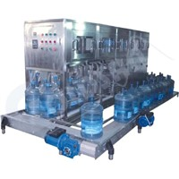 5G bottled water washing,filling&capping machine