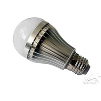 5W LED Bulb 450lumens E27 Base Holder, Warm White, Natural White and Cool White