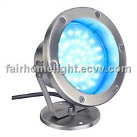 5W blue LED underwater light stainless steel 304 light