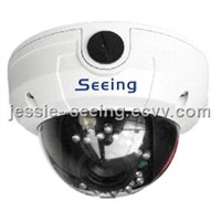 650TVL Vandalproof 3-Axis IR Dome Camera
