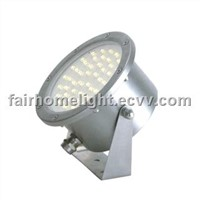 6W hight power LED warm white waterproof flood light stainless steel
