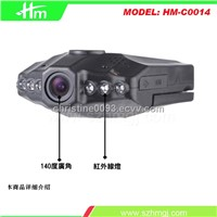 720P HD screen rotatable car drive recorder ,car camera recorder,car dvrs,car dvr recorder