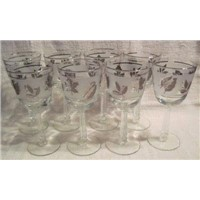 7PCS Glass Goblet Set