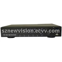 8ch Full Realtime H.264 DVR Support 3G Mobile Phone