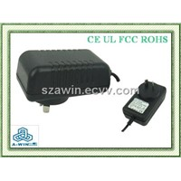 9v1a ac/dc adapter with eu plug