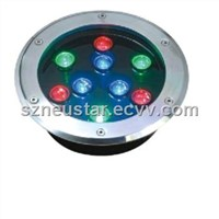 9w High Power LED Underground Light