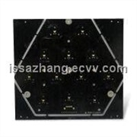 Aluminum Base PCB with Black Soldrer Mask, 1.6mm Thickness