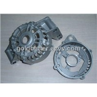 Aluminum die casting part for motor cover