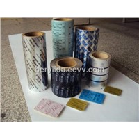 Aluminum foil PTP medical packing film