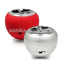 Apple shape hamburger speaker