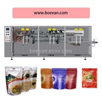 Automater Feeding,Filling Pear Packaging Machine with BHP-360DZ Packing machine