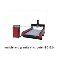 BD-1224 marble and granite cnc router