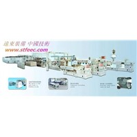 BOPP/BOPET (Three-Layer Coextrusion Biaxial Oriented) Film Production Line