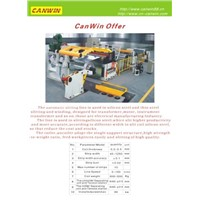 Canwin Silicon Steel Slitting Line
