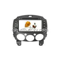 Car dvd player with GPS for Mazda2