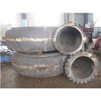 Cast High Chrome Iron Pump Parts