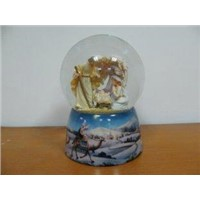 Christ Water Snow Globe