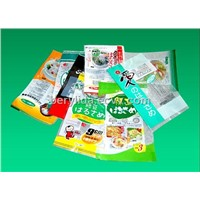 Cooking series frozen food printed packaging pouch