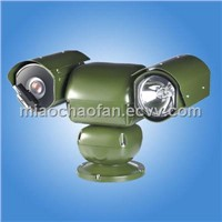 D89 series Heavy duty PTZ applied on vehicle(Spot Light High Speed PTZ System)