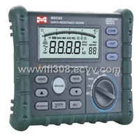 Digital Earth Resistance Tester MS2302