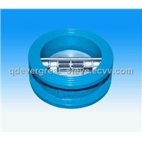 Double Disc Wafer Swing Check Valve
