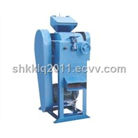 Double roller crusher for laboratory use