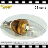 E16 low decay led wax candle light