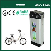 Electric Bike Battery 48V 15aAH with Charger and Bms, 30A Discharge Current
