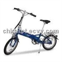 Electric Bike with 6061 Aluminum Alloy Frame, 40 to 45km Range and V Brake