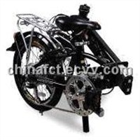 Electric Bike with 831 x 367 x 654mm Folded Size, 6061 Alloy Frame and 36V/8Ah Lithium Battery