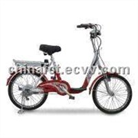 Electric Bike with Brushless Hub Motor and Li-Ion Battery -  240 to 260 Rotating Speed