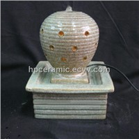 Fancy Glazed Square Ceramic Water Fountain
