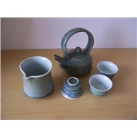 Fine China Porcelain Tea Pot Set (TP-041)