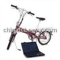 Folding Electric Bike, Made of 6061 Aluminum Alloy, with 831 x 367 x 654m Folded Size and EN/CE Mark